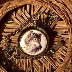 Wolf Pocketwatch